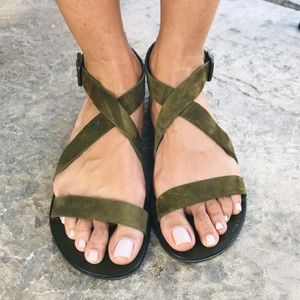 Shoes - Green Sandals